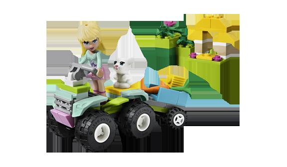 girl legos - stephanie's pet patrol